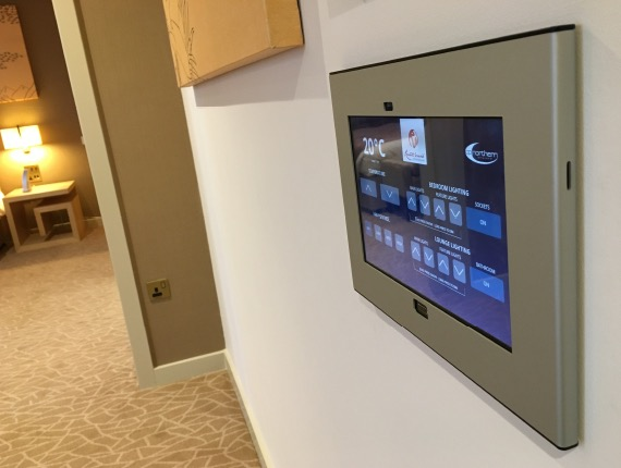 I designed and developed the control apps that run on the touchscreens in the Resort's World Birmingham hotel 5 star rooms and suites.